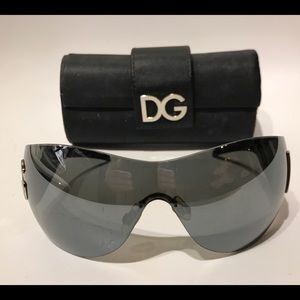 Used Dolce and Gabbana Shield Sunglasses